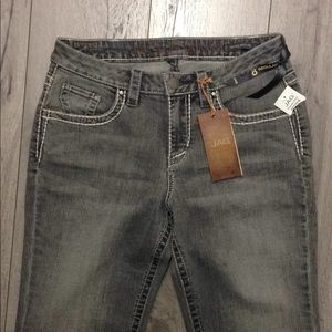 Jag Jeans mid rise boot leg size 8